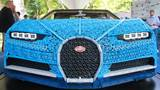 GALLERY | Bugatti Chiron built entirely with Lego