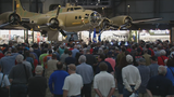 'A piece of world history': Memphis Belle exhibit opens to public
