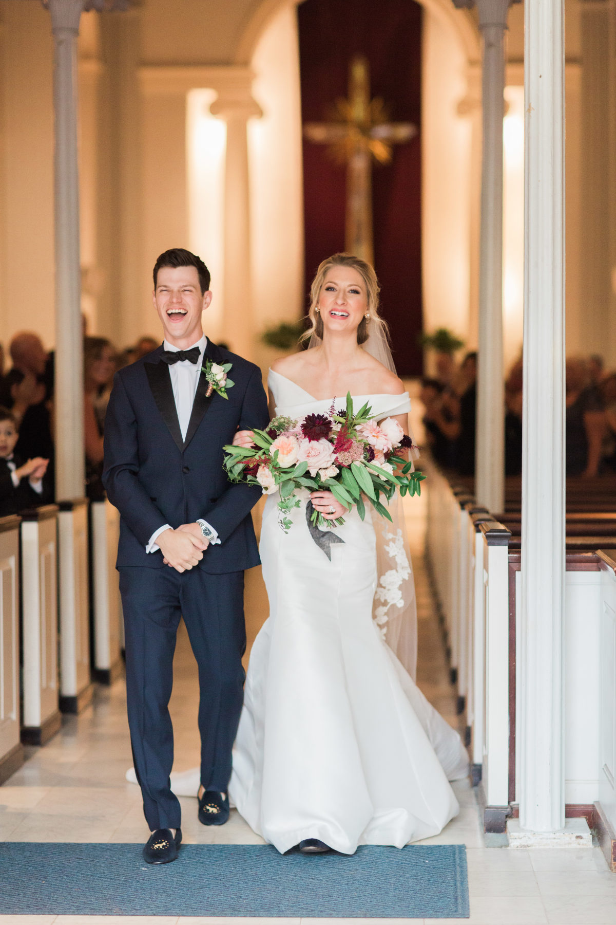 """It feels like so many weddings rush the ceremony part in favor of focusing on the party aspect of a wedding,"" said Erica. ""But to me, the ceremony honors the true reason for the day in pledging your partnership to your new spouse.""(Image: Abby Grace Photography/ abbygracephotography.com)"