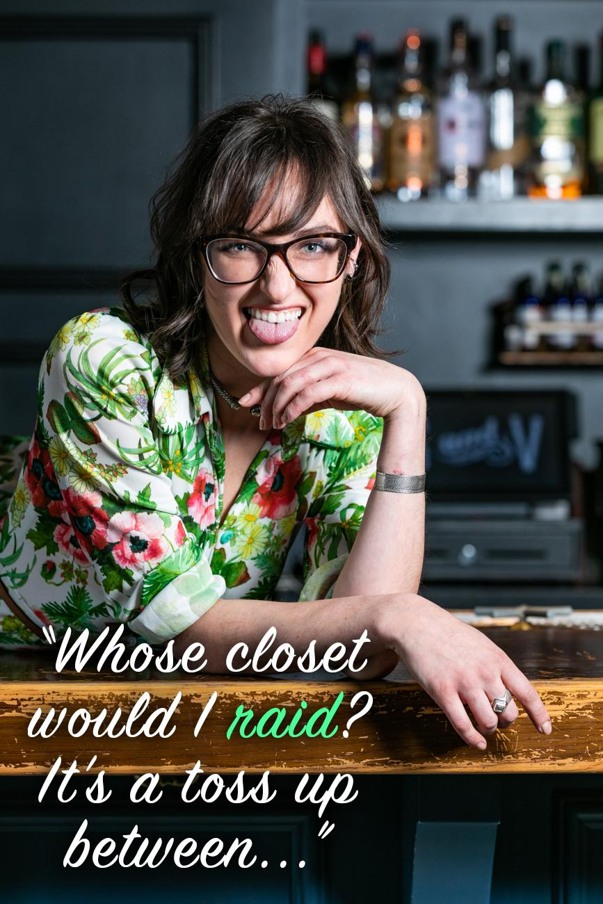 "Cincinnati Refined: If you could raid any celebrity's closet (alive or dead) who would it be and why? / Layne: ""Whose closet would I raid? It's a toss up between Audrey Hepburn (her closet was filled with Givenchy) and Sarah Jessica Parker; her style advice has always stuck with me."" / Image: Amy Elisabeth Spasoff // Published: 2.26.19"