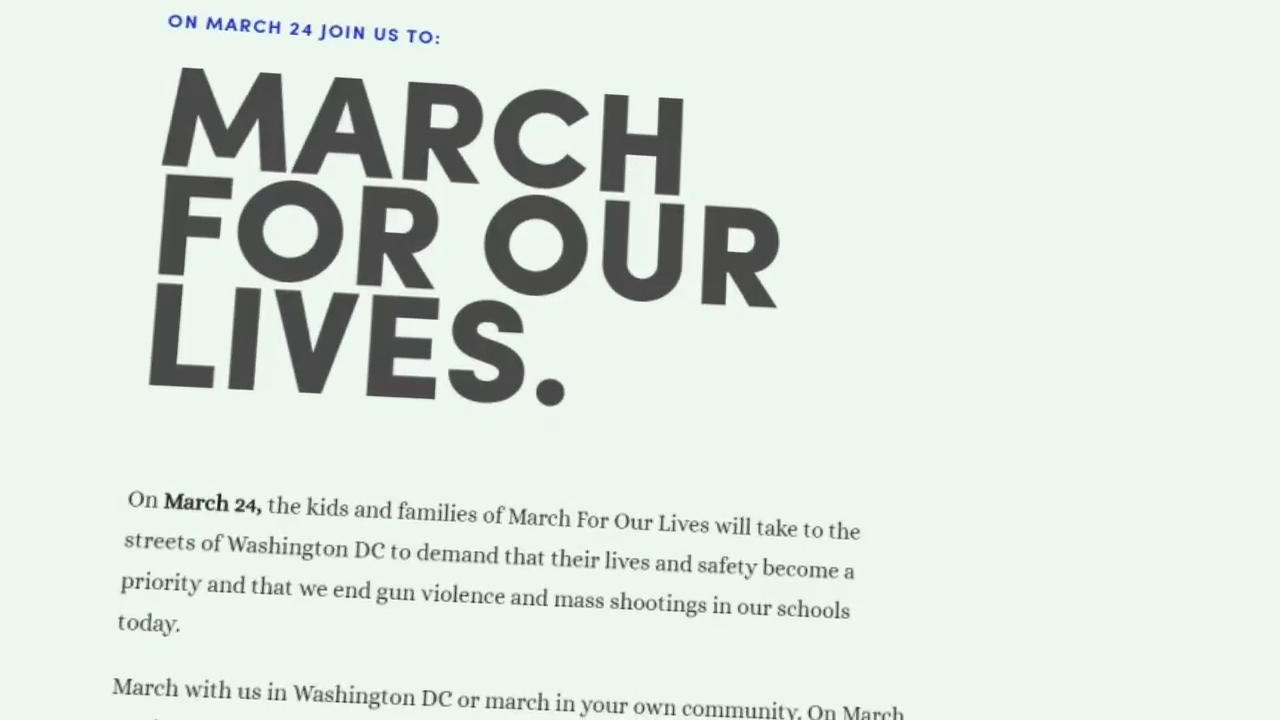 "Ellie Rider and Susan Davis are offering up their homes for D.C.-bound students to use for the upcoming ""March For Our Lives,"" which is calling for gun reform. (Victoria Sanchez/ABC7)"