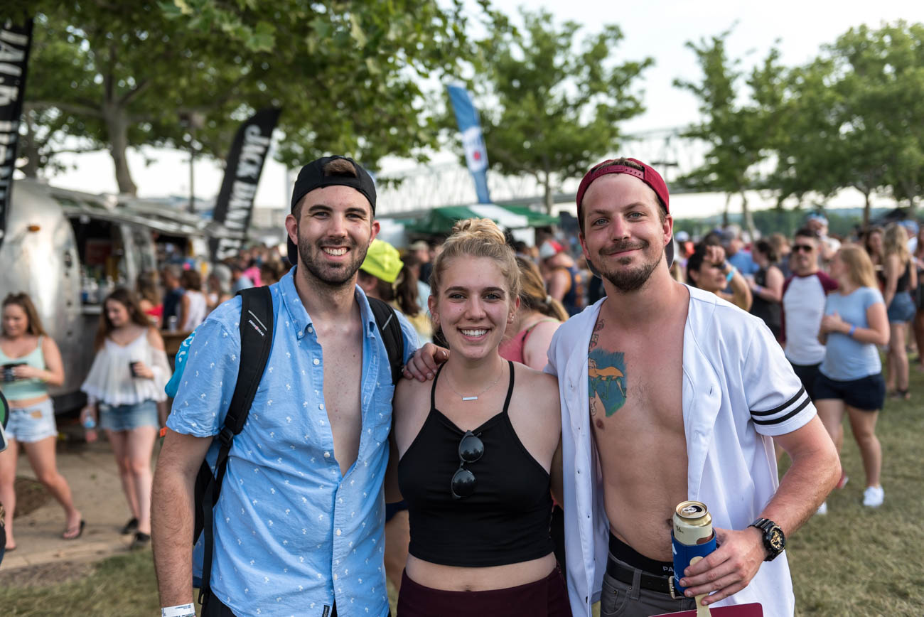 Jake Paneck, Kelsey Vincent, and Kyle Jeffers / Image: Mike Menke // Published: 6.3.18