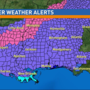 A Winter Weather Alert is now in effect