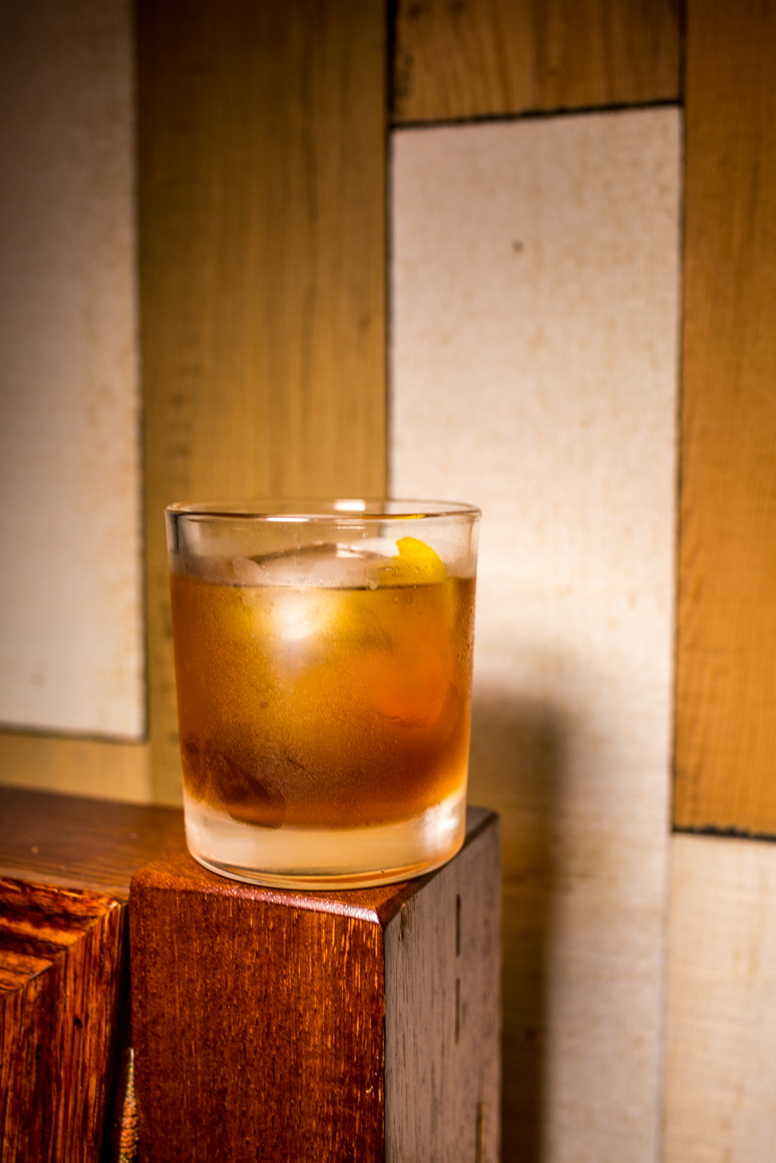 The Woodhouse: bourbon, scotch, molasses, and simple syrup / Image: Catherine Viox{ }// Published: 9.5.19