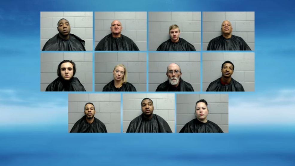 11 arrested in large Jacksonville drug bust | WICS