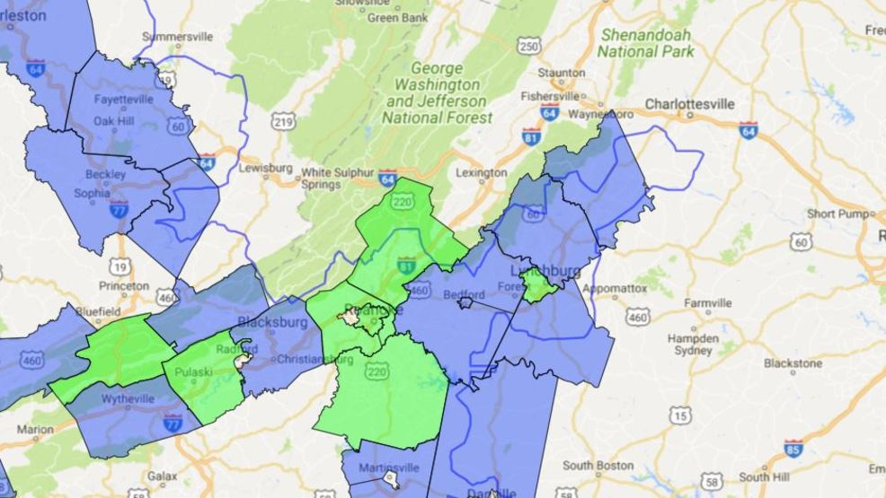 Power outage affects more than 1000 people from Lynchburg to