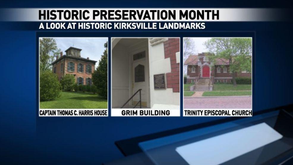 Historic Kirksville: Capt  Thomas C  Harris House, Grim