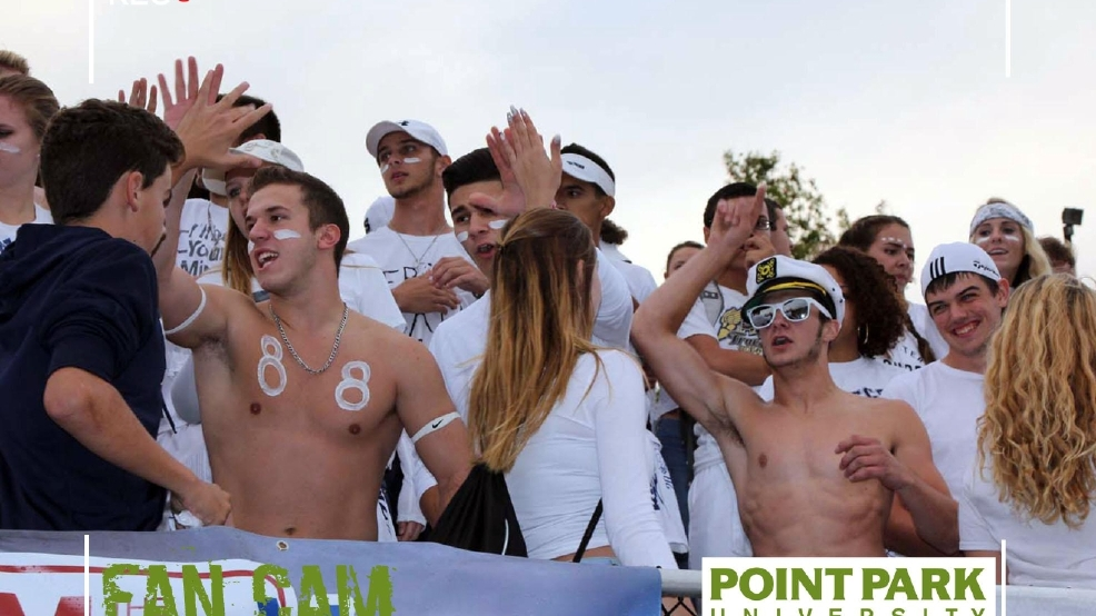 Thomas Jefferson at Ringgold: Point Park University Fans of the Game