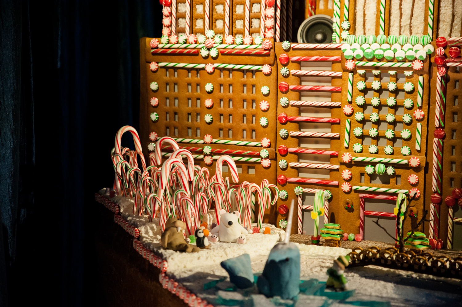 <p>Each year the Sheraton Hotel culinary team and top local architecture firms design and bake larger-than-life gingerbread 'houses' for the public to delight in. The houses are on display in the lobby of the Sheraton Grand Seattle, and are free to the public (though donations benefitting JDRF Northwest Chapter are appreciated). This year's theme is #ElfLife, honoring different tales of elves from Santa's traditional helpers to their modern counterparts, like Elf on the Shelf. The exhibit is on display from Nov. 23, 2019 through January 1, 2020, from 9 a.m. to 9 p.m. weekdays, weekends open until 11p.m. (Image: Elizabeth Crook / Seattle Refined)</p><p><br></p>