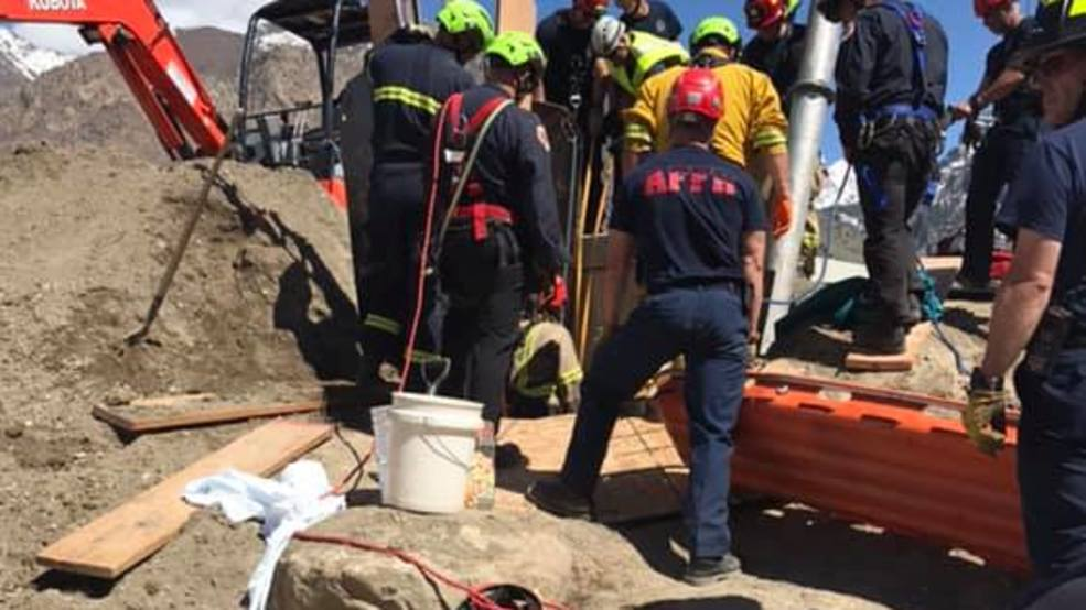Body recovered after trench collapses in Utah County
