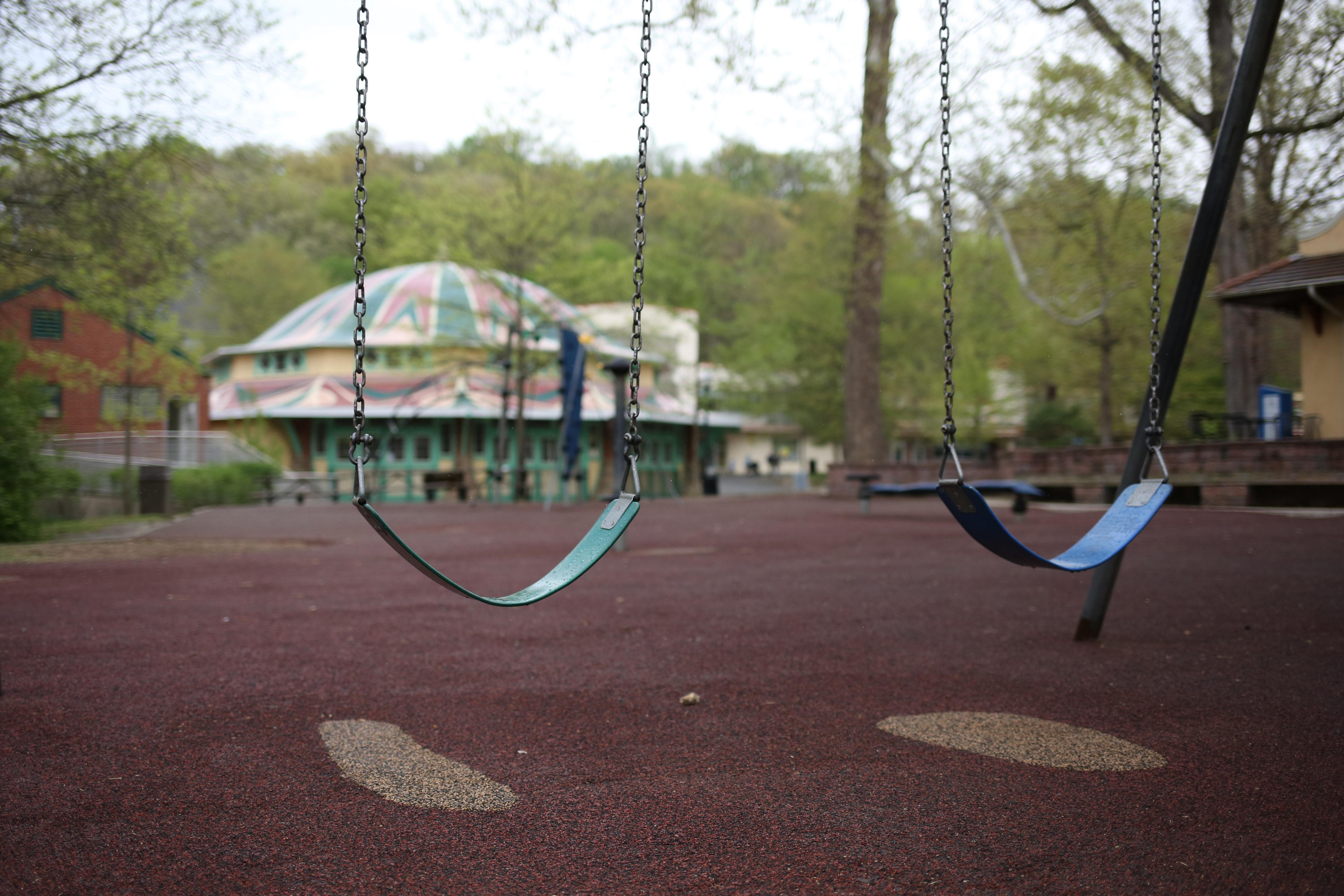 A lot of locals have fond memories of Glen Echo Park, the amusement park-turned-national park in Glen Echo, Maryland. However, before the famous carousel opens up for spring and summer, Glen Echo Park feels like getting lost in time. (Amanda Andrade-Rhoades/DC Refined)
