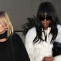 Kate Moss and Naomi Campbell reunite on the runway