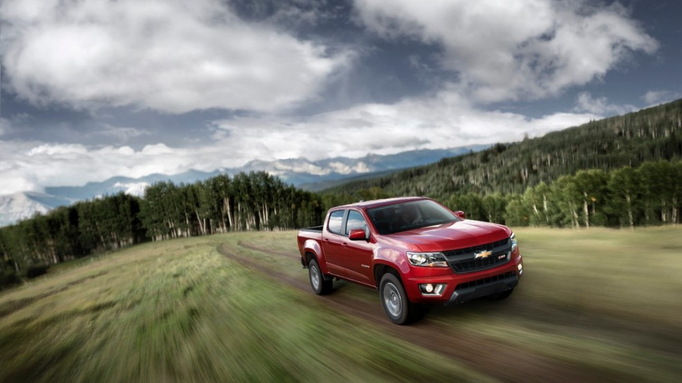 2015 Chevrolet Colorado (Image courtesy of General Motors)