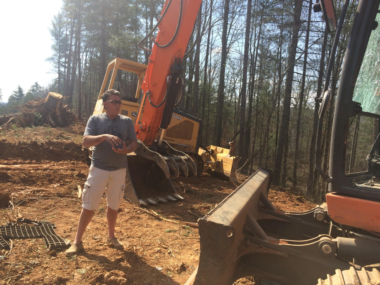 Developer Rick McElrath of Rolling Hills of French Broad. Photo credit WLOS