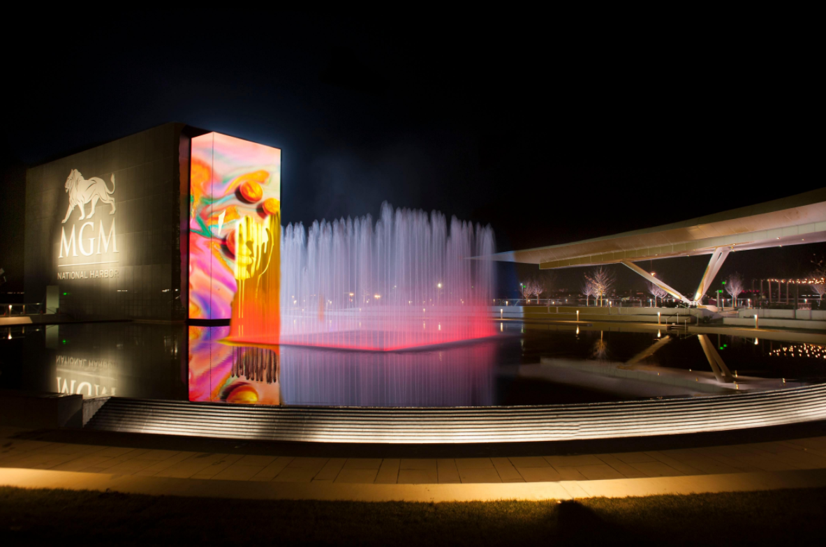 Rock the Plaza at the MGM National Harbor (Image: Courtesy MGM National Harbor)