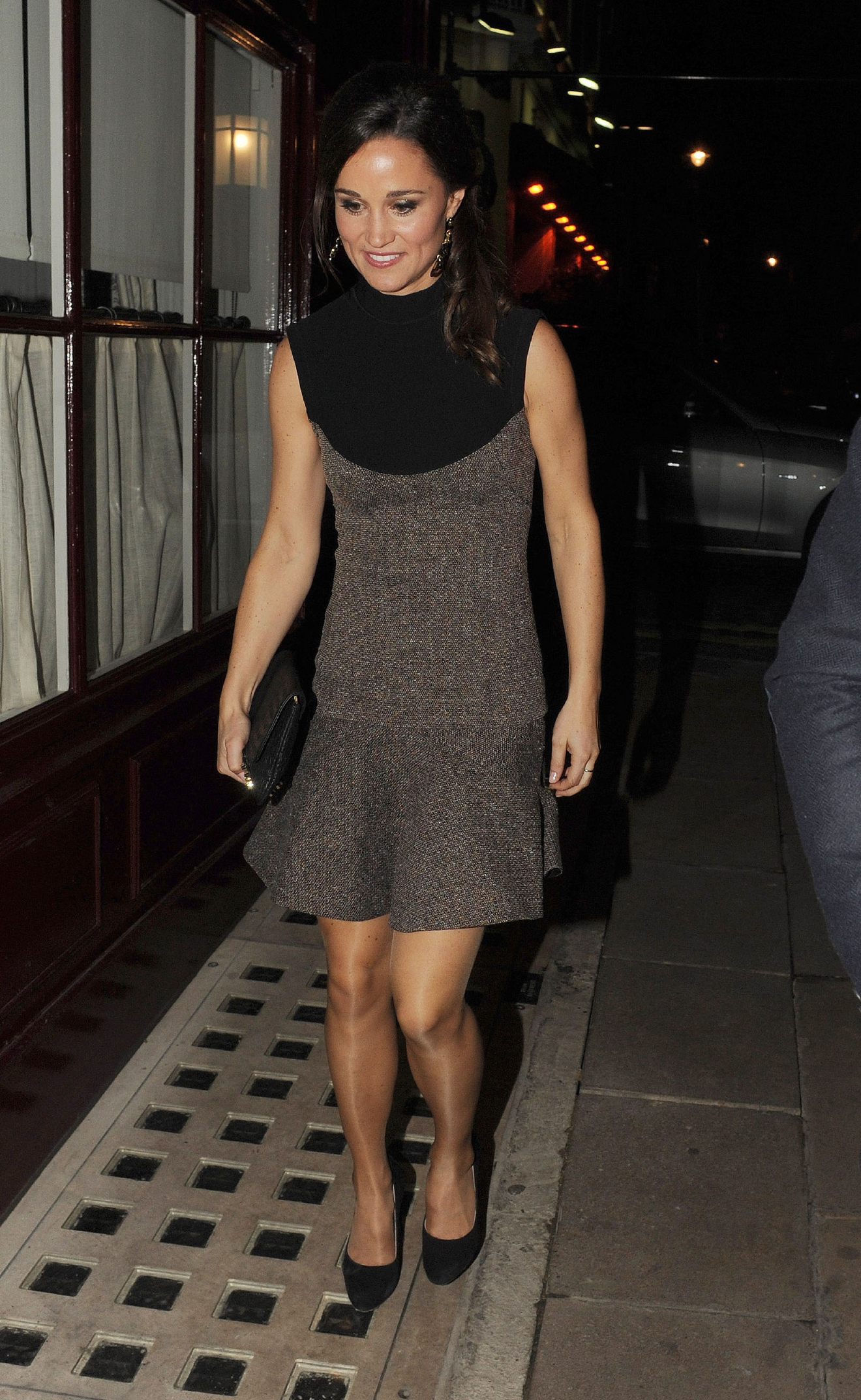 Pippa Middleton leaving Lou lou's members club in Mayfair. London, England - 25.10.12  Featuring: Pippa Middleton Where: London, United Kingdom When: 25 Oct 2012 Credit: WENN