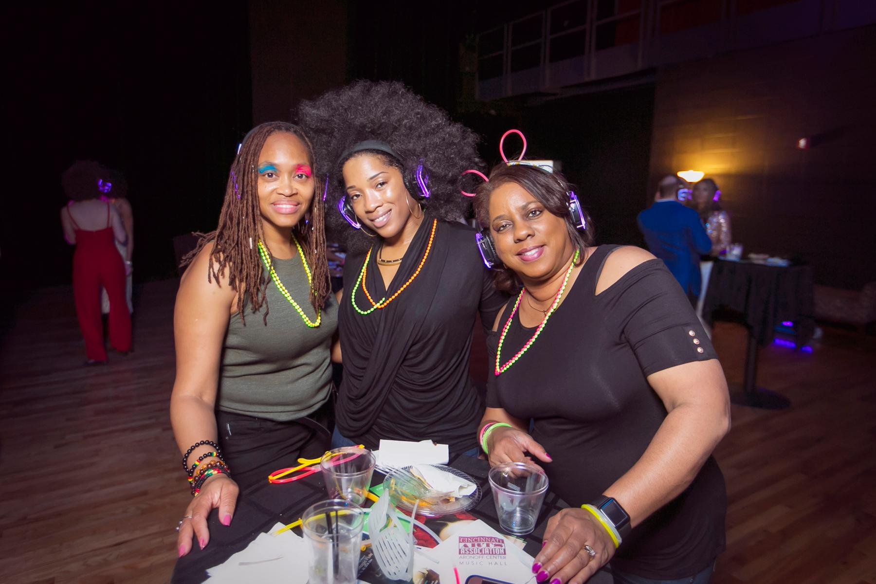 Terri Gaither-Watkins, Chantelle Mcquire, and Sheilah Brackett / Image: Mike Bresnen Photography