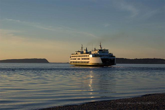 Mukilteo ferry (Photo: Mary Anderson)