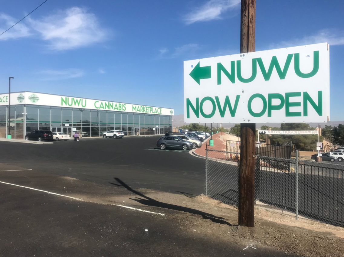 "Nuwu Cannabis Marketplace has been three years in the making. ""Nuwu"" means ""the people"" in the native Paiute language. 10/16/17 (Nathan O'Neal 