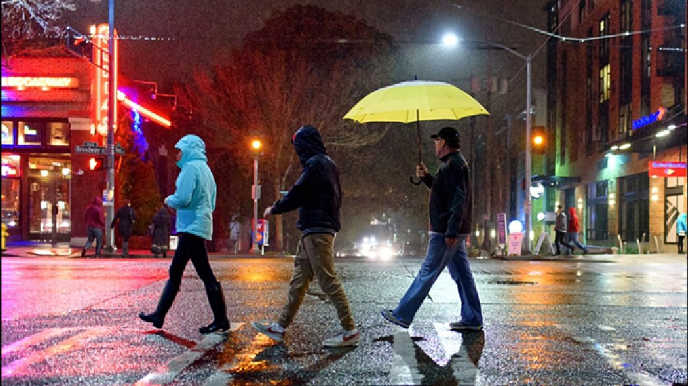 What\'s the difference between \'rain\' and \'showers\'? | KOMO