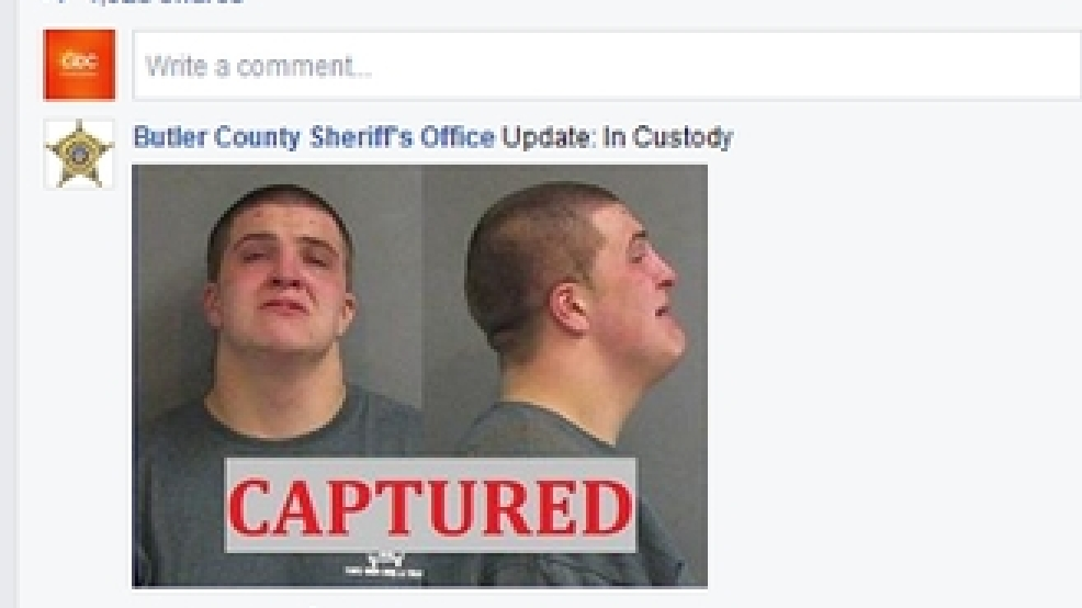 Ohio sheriff posts wanted poster, suspect comments online | KVII