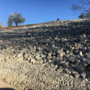 Landslip repair completed on road in Huntington