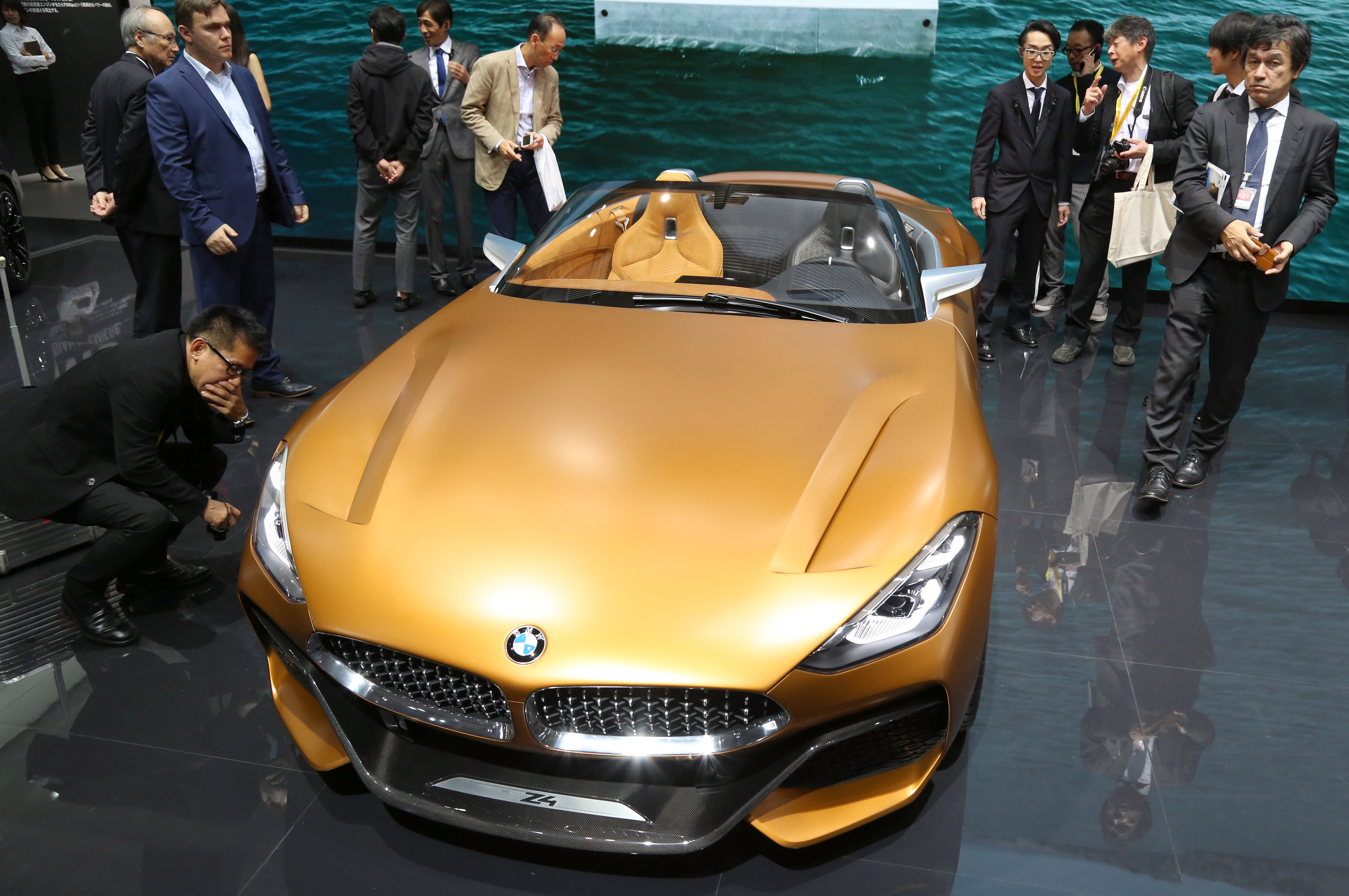 Tokyo Motor Show 2017  Featuring: BMW Concept Z4 Where: Tokyo, Japan When: 25 Oct 2017 Credit: Yukio Tomita/Future Image/WENN.com  **Not available for publication in Germany**