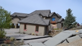 Photos: Boise Foothills sliding homes continue to crumble, targeted with vandalism