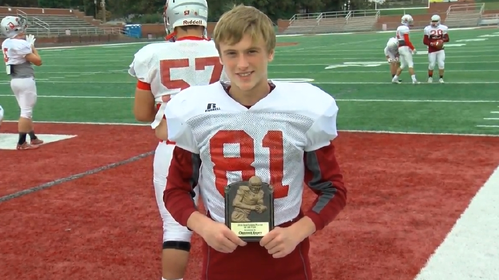 Week 7 Hancock County Chrysler Dodge Jeep Ram/WTOV9 Player of the Week: Maguire Morris