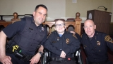 9-year-old fighting cancer made police chief for a day in Connecticut town