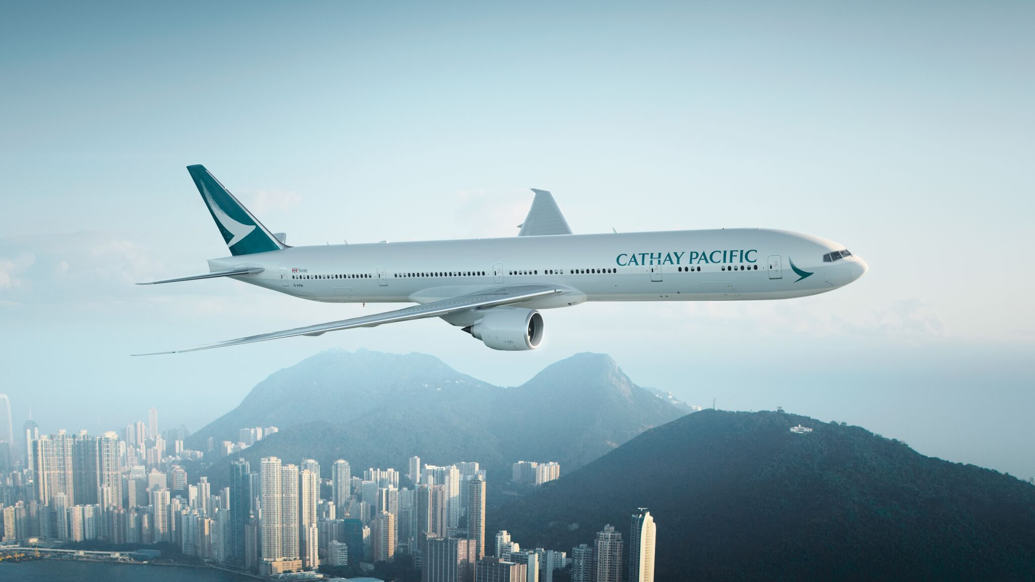 Cathay Pacific recently debuted the 12th longest flight in the world, from D.C. to Hong Kong. The flight is more than 8,000 miles and 15 hours long. (Image: Courtesy Cathay Pacific)