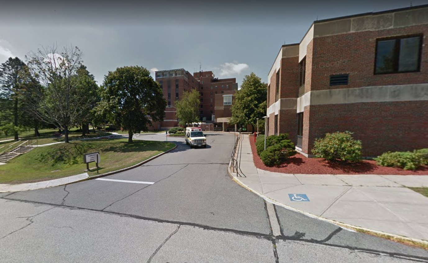FILE: Google Maps image of the Manchester, New Hampshire Veterans Affairs hospital. (Credit: Google Maps)