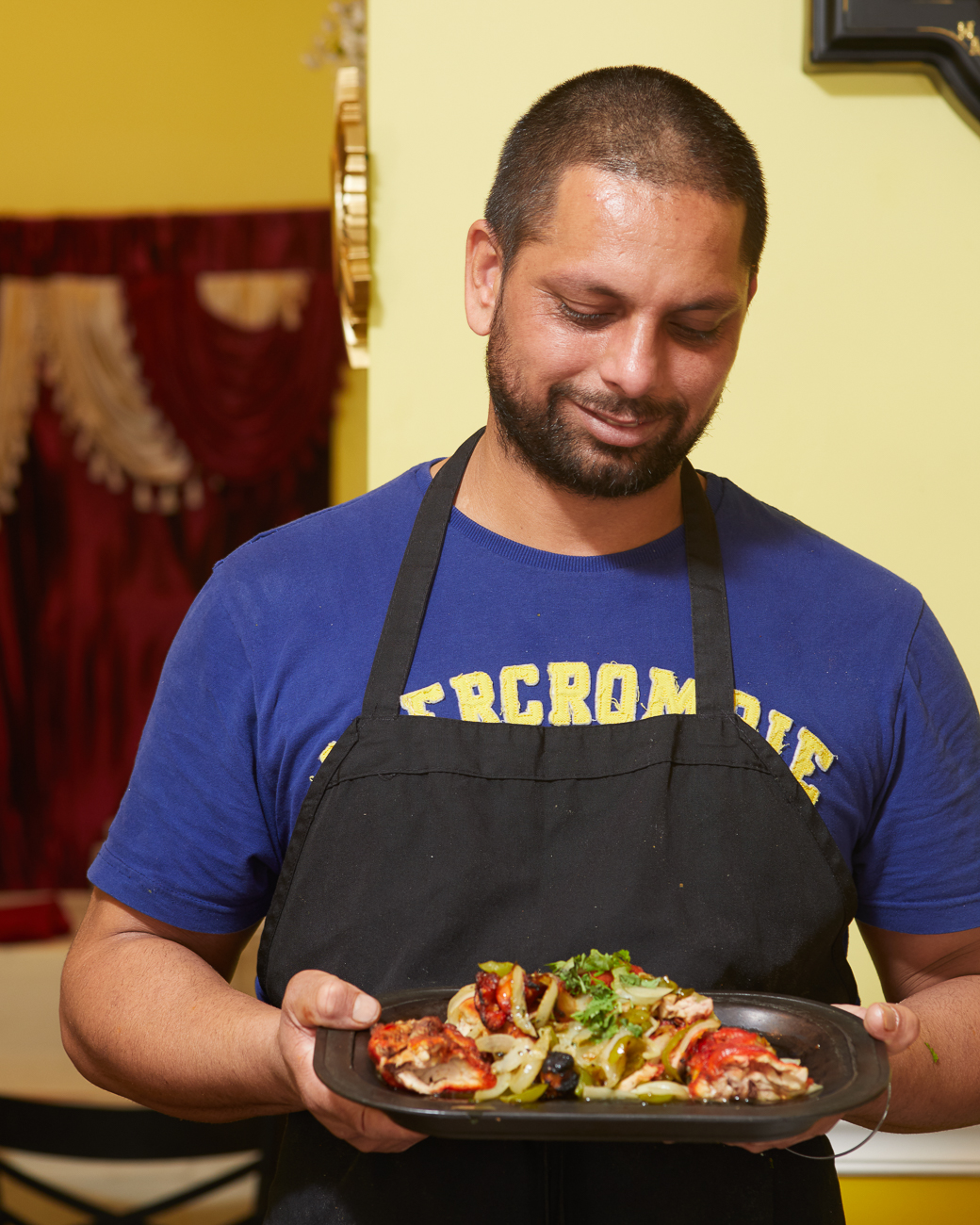Josh Singh, owner and chef / Image: Marlene Rounds // Published: 8.4.18