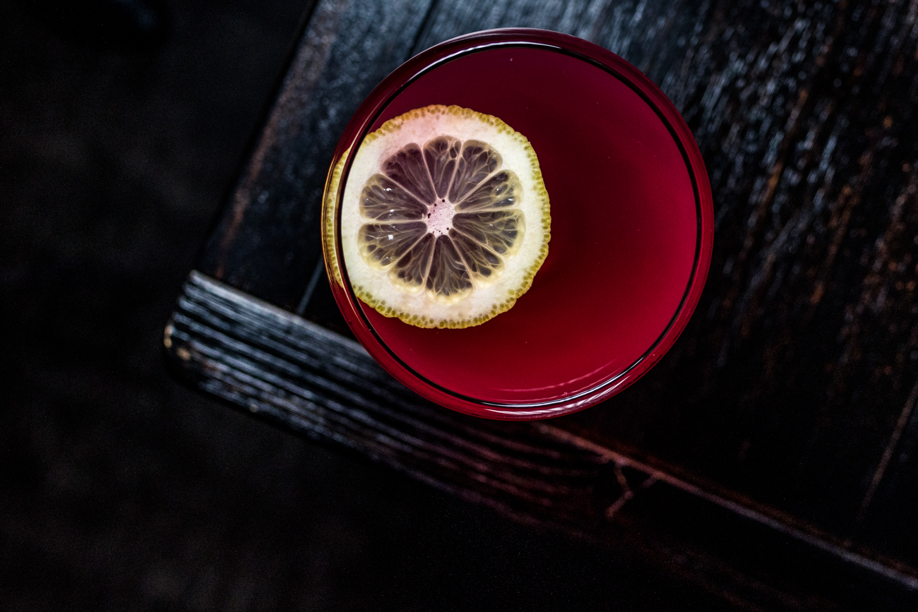 Devil in a Red Dress: Altos Reposado Tequilla, pomegranate liqueur, lemon and lime juice, and agave syrup / Image: Catherine Viox // Published: 2.25.21