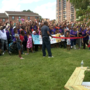 Organizations and neighbors build McCulloh Homes' first playground