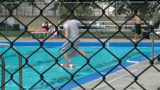 Community pool at or near capacity throughout the week