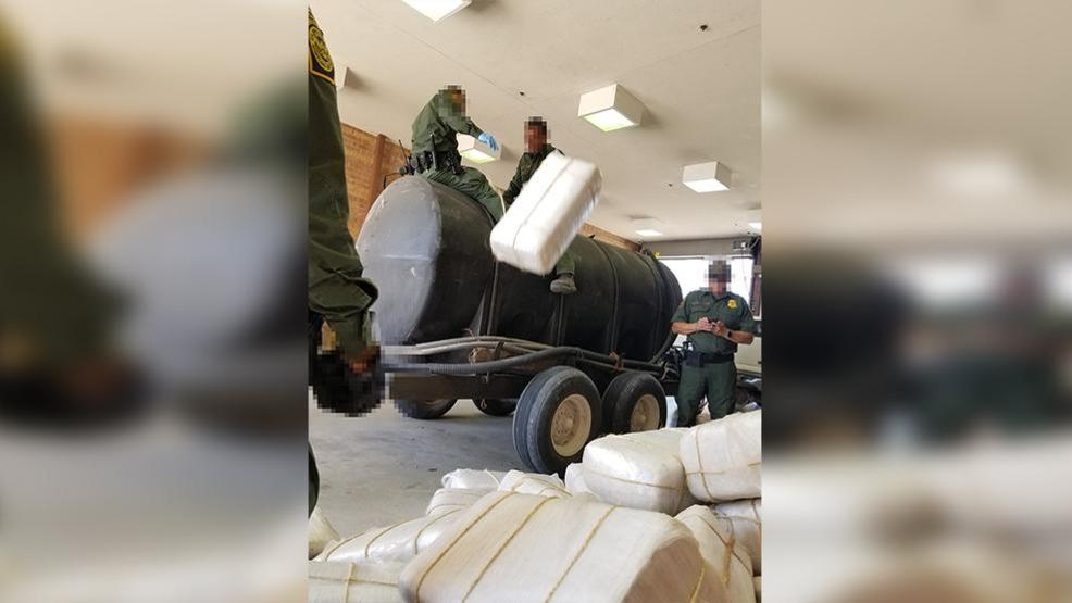 Agents seize more than 860 pounds of marijuana from water tank near Donna
