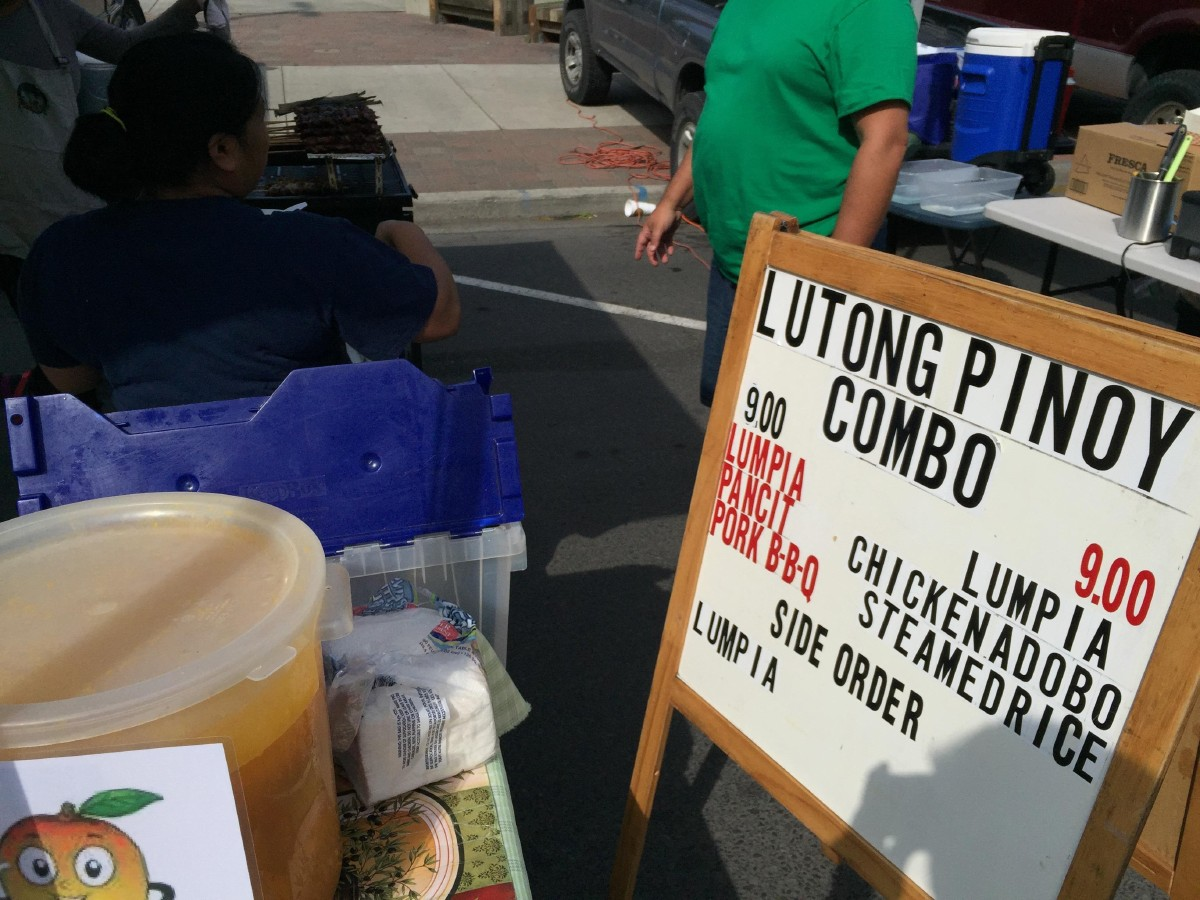 Lutong Pinoy at the Yakima Valley Farmers Market; home to some of the best chicken adobo I've had. (Image: Frank Guanco)
