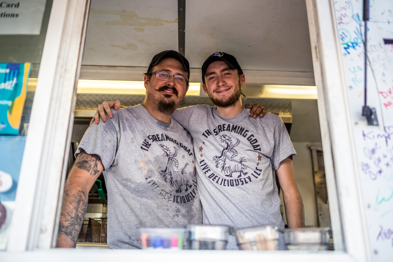 Brady Goodall and Brandon Whitaker of The Screaming Goat / Image: Catherine Viox{ }// Published: 7.9.19