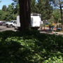 Crews clean up after body found in pickup; neighbor says truck 'parked there a while'