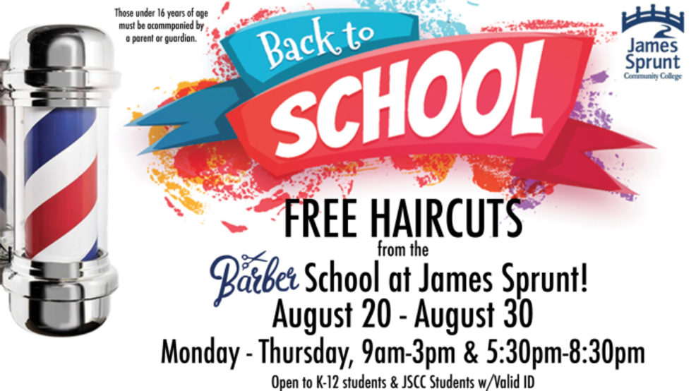 Free Haircuts For A Limited Time Only Wcti