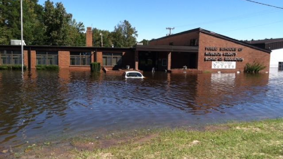 No timeline to reopen 7 Robeson County schools flooded, damaged by Matthew