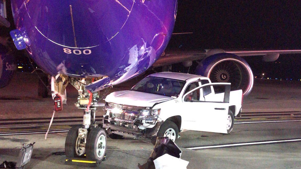 Southwest Airlines plane struck by truck at BWI Airport | WJLA