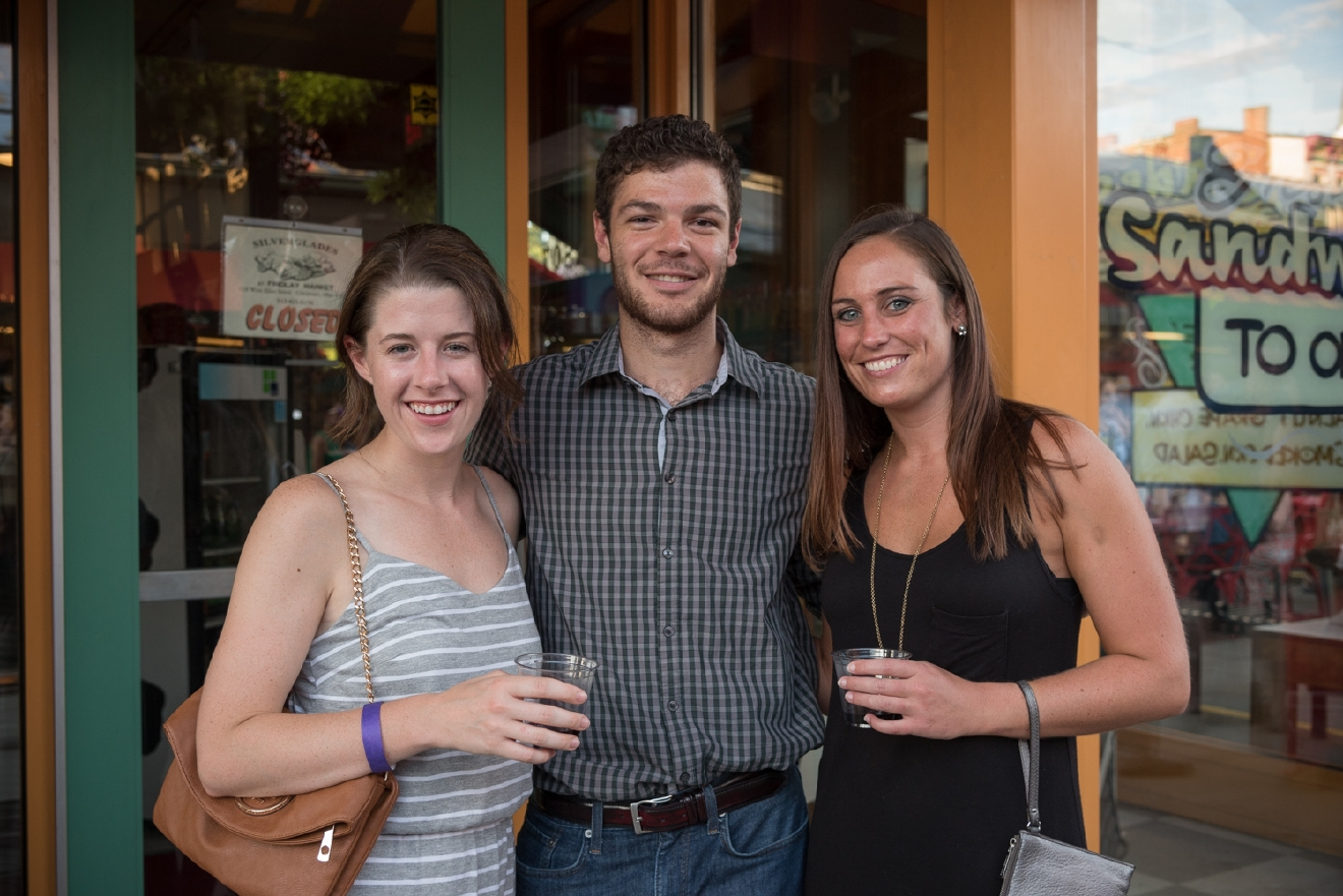Audrey Inniger, Ryan Miller, and Ashley Richardson  / Image: Phil Armstrong, Cincinnati Refined