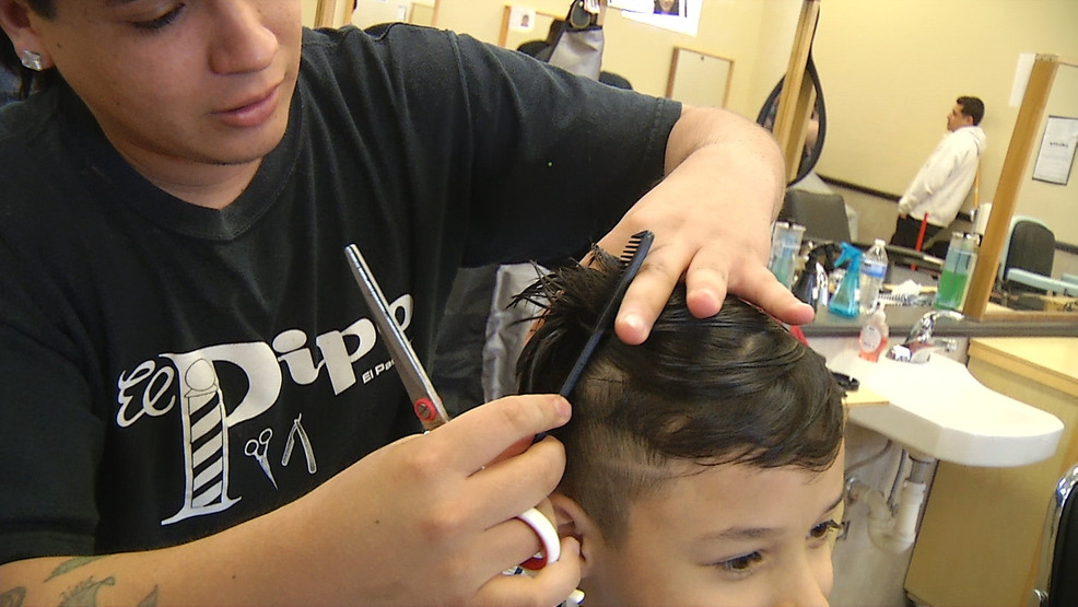 El Pipo Barber College Giving Free Haircuts To Families In Need Kfox