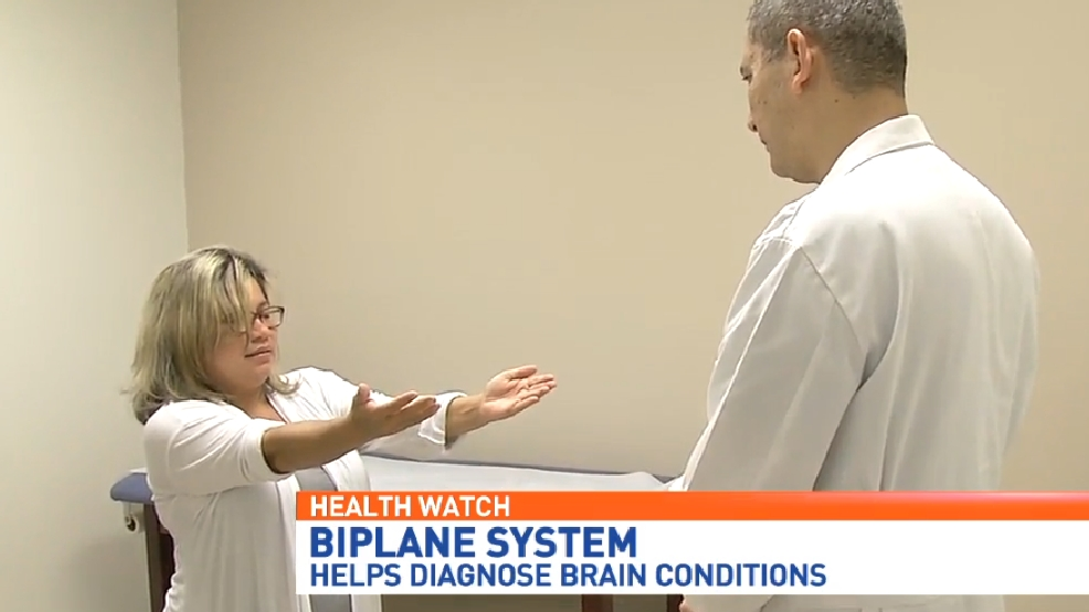 Biplane imaging helps doctors treat aneurysms