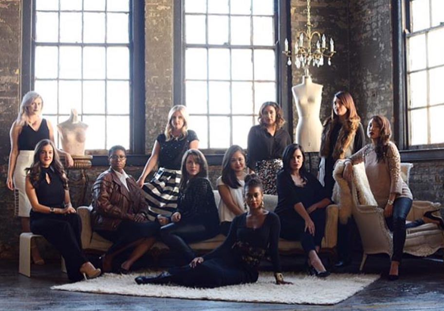 The Cincinnati bloggers and fashionistas of #throneproject. -- Image courtesy of Queen City Vignette