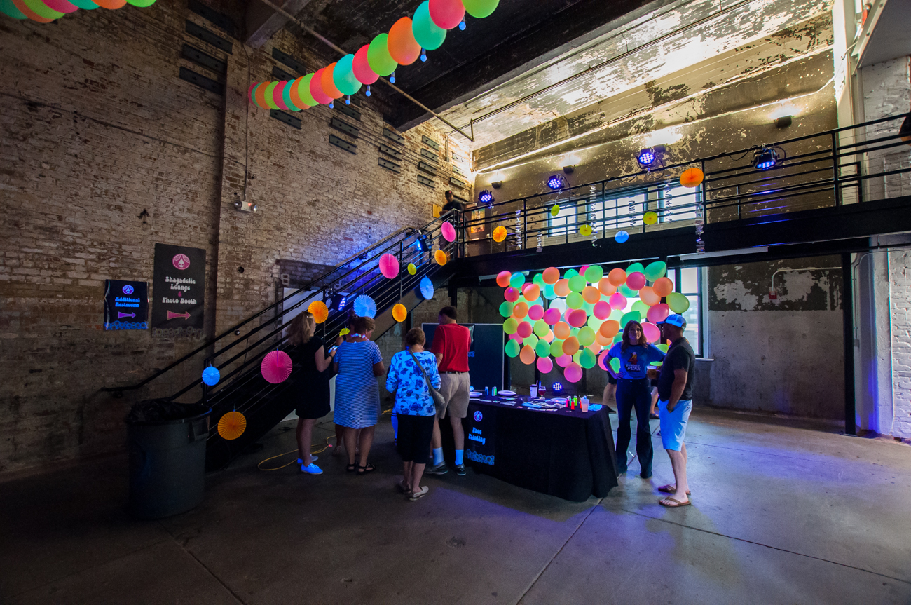 Rhinegeist Brewery held a disco-themed roller skating party to celebrate its 4-year anniversary on Saturday, July 1. / Image: Mike Menke // Published: 7.2.17