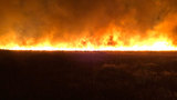 Wildfire forces evacuations near Soap Lake