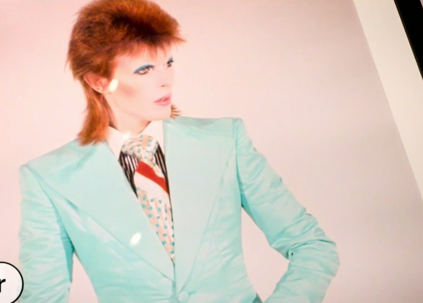 David Bowie by Mick Rock at MoPOP. (Image: Mick Rock)